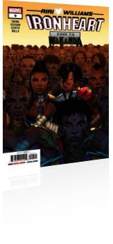 Marvel Comics: Ironheart - Issue # 9 Cover