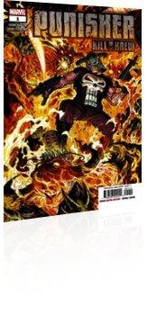 Marvel Comics: Punisher: Kill Krew - Issue # 1 Cover