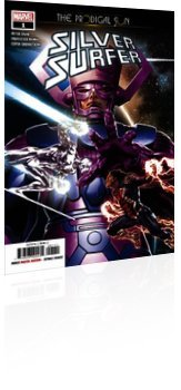 Marvel Comics: Silver Surfer: Prodigal Sun - Issue # 1 Cover
