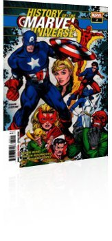 Marvel Comics: History of the Marvel Universe - Issue # 2 Cover