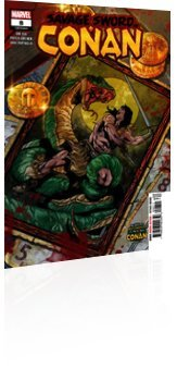Marvel Comics: Savage Sword Of Conan - Issue # 8 Cover