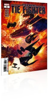Marvel Comics: Star Wars: TIE Fighter - Issue # 5 Cover
