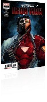 Marvel Comics: Tony Stark: Iron Man - Issue # 15 Cover