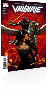 Marvel Comics: Valkyrie: Jane Foster - Issue # 2 Cover