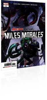 Marvel Comics: Absolute Carnage: Miles Morales - Issue # 1 Cover