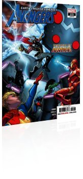 Marvel Comics: Avengers - Issue # 23 Cover