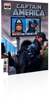 Marvel Comics: Captain America - Issue # 13 Cover