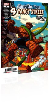 Marvel Comics: Fantastic Four: 4 Yancy Street - Issue # 1 Cover