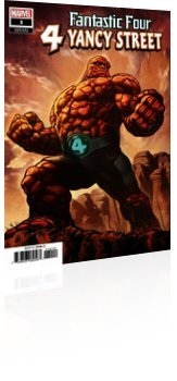 Marvel Comics: Fantastic Four: 4 Yancy Street - Issue # 1 Page 1