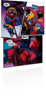 Marvel Comics: Moon Girl and Devil Dinosaur - Issue # 46 Page 4