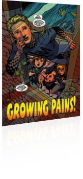 Marvel Comics: Power Pack: Grow Up! - Issue # 1 Page 3