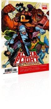 Marvel Comics: Alpha Flight: True North - Issue # 1 Cover