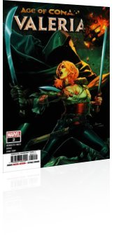 Marvel Comics: Age of Conan: Valeria - Issue # 2 Cover