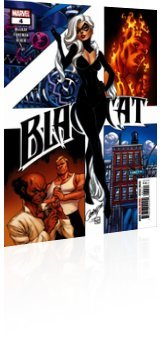 Marvel Comics: Black Cat - Issue # 4 Cover