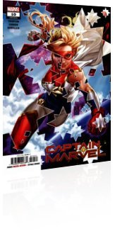 Marvel Comics: Captain Marvel - Issue # 10 Cover