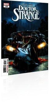 Marvel Comics: Doctor Strange - Issue # 19 Cover