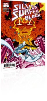 Marvel Comics: Silver Surfer: Black - Issue # 4 Cover