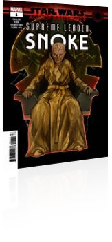Marvel Comics: Star Wars: Age of Resistance - Supreme Leader Snoke - Issue # 1 Cover