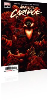 Marvel Comics: Absolute Carnage - Issue # 3 Cover