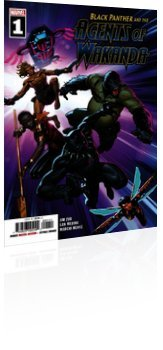 Marvel Comics: Black Panther and the Agents of Wakanda - Issue # 1 Cover