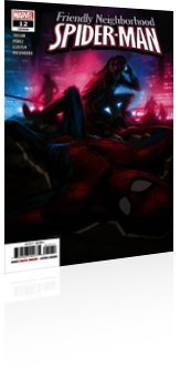 Marvel Comics: Friendly Neighborhood Spider-Man - Issue # 12 Cover