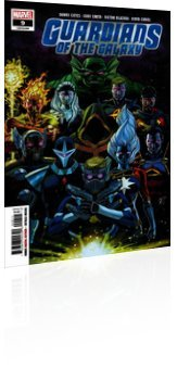 Marvel Comics: Guardians of the Galaxy - Issue # 9 Cover