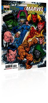 Marvel Comics: History of the Marvel Universe - Issue # 3 Cover