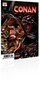 Marvel Comics: Savage Sword Of Conan - Issue # 9 Cover