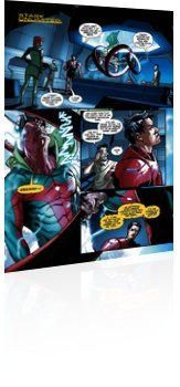 Marvel Comics: Tony Stark: Iron Man - Issue # 16 Page 3