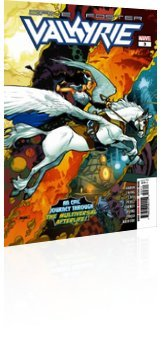 Marvel Comics: Valkyrie: Jane Foster - Issue # 3 Cover