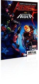 Marvel Comics: Avengers - Issue # 24 Cover