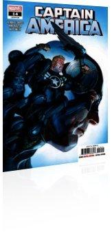 Marvel Comics: Captain America - Issue # 14 Cover