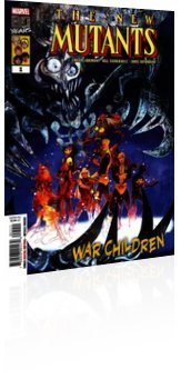 Marvel Comics: The New Mutants: War Children - Issue # 1 Cover