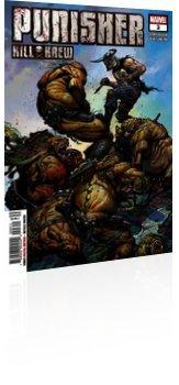 Marvel Comics: Punisher: Kill Krew - Issue # 3 Cover