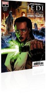 Marvel Comics: Star Wars: Jedi - Fallen Order Dark Temple - Issue # 2 Cover