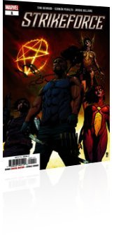 Marvel Comics: Strikeforce - Issue # 1 Cover