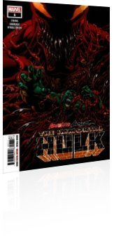 Marvel Comics: Absolute Carnage: Immortal Hulk - Issue # 1 Cover