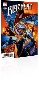 Marvel Comics: Black Cat - Issue # 5 Cover