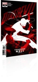 Marvel Comics: Daredevil - Issue # 12 Cover