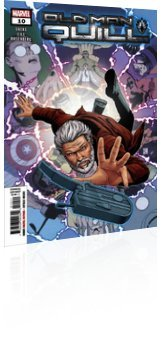 Marvel Comics: Old Man Quill - Issue # 10 Cover