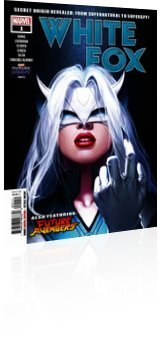 Marvel Comics: Future Fight Firsts: White Fox - Issue # 1 Cover