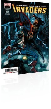 Marvel Comics: Invaders - Issue # 10 Cover