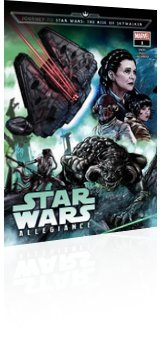Marvel Comics: Journey to Star Wars: The Rise of Skywalker - Allegiance - Issue # 1 Cover
