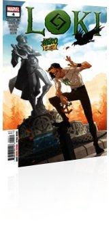Marvel Comics: Loki - Issue # 4 Cover