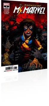 Marvel Comics: Magnificent Ms. Marvel - Issue # 8 Cover