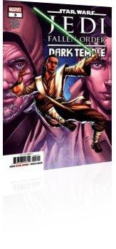 Marvel Comics: Star Wars: Jedi - Fallen Order Dark Temple - Issue # 3 Cover