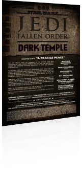 Marvel Comics: Star Wars: Jedi - Fallen Order Dark Temple - Issue # 3 Page 1