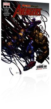 Marvel Comics: Absolute Carnage: Avengers - Issue # 1 Cover