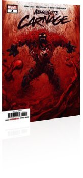 Marvel Comics: Absolute Carnage - Issue # 4 Cover