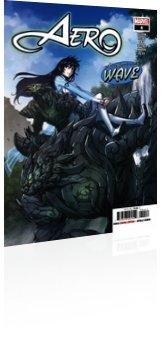 Marvel Comics: Aero - Issue # 4 Cover